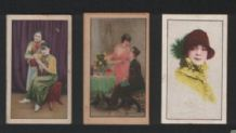 VERY OLD CHINA cigarette cards tobacco inserts #502